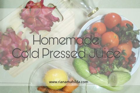Homemade Cold Pressed Juice